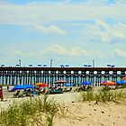Beach And Pier by Cynthia48