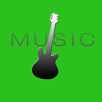 Music Guitar Player Gift for Musicians by simplyoj