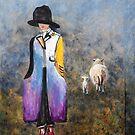 Colorful Shepherdess by Carmen de Bruijn