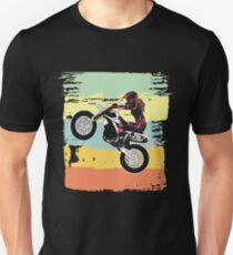 Dirt Biking Motocross Supercross Design Womens  Slim Fit T-Shirt