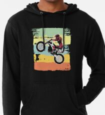Dirt Biking Motocross Supercross Design Womens  Lightweight Hoodie