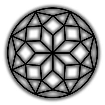 Language's Mandala (Black) by djentleman5
