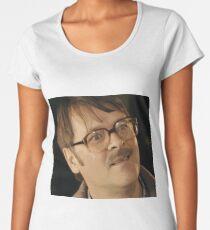 Confused Jim Friday Night Dinner Cartoon Fan Art Women's Premium T-Shirt