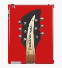 GUITAR HEADSTOCK ART - RICKENBACKER iPad Case/Skin