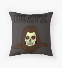 Death is the end of the road Floor Pillow