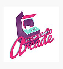 Enlightenment Arcade Photographic Print