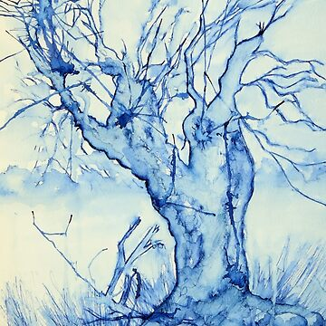 A tree in the veld by Happyart