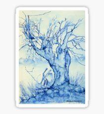 A tree in the veld Sticker