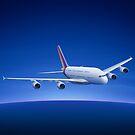 Airbus A380 by vladstudio