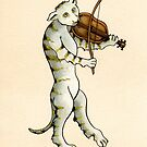 THE CAT AND THE FIDDLE by DavidAEvans