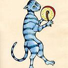 DRUMMER CAT by DavidAEvans