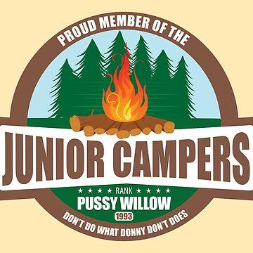 The Simpsons Junior Campers by RhoaDesigns