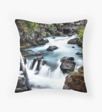 Rogue Gorge Throw Pillow