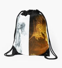 Balrog of Morgoth Progression Drawstring Bag