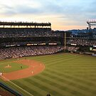 Sunset at Safeco by DeannaCasner