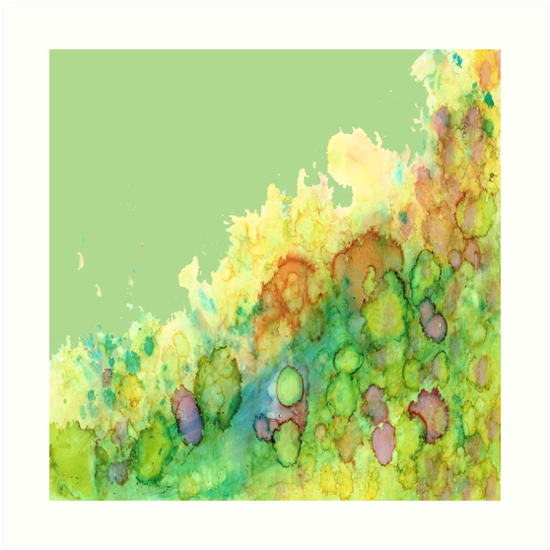 Sea Life - Green by Rosie Brown