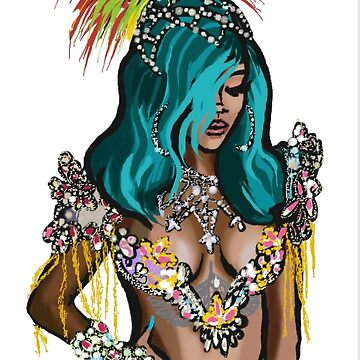 Rihanna comic festival by michli