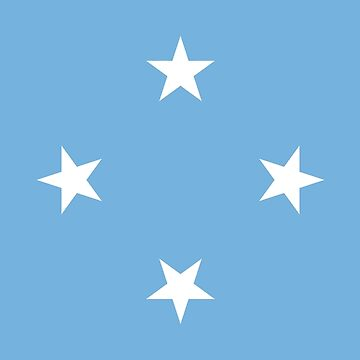 Micronesia - National Flag - Current by CrankyOldDude