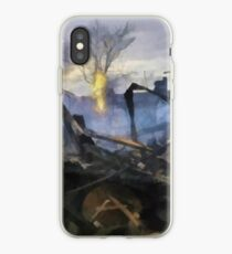 Sandy versus Anarchy iPhone Case