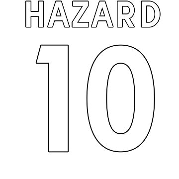 Eden Hazard 10 by Dylster