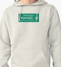 parks and rec welcome to pawnee Pullover Hoodie