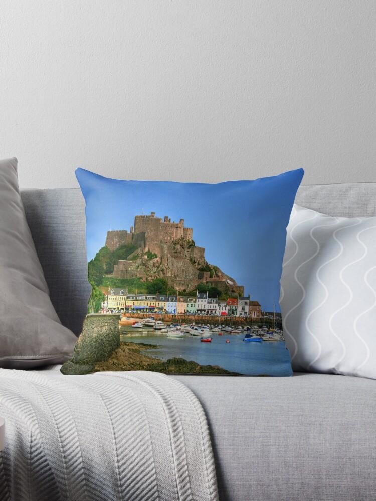 """""""Mount Orgueil Castle, Gorey Harbour"""" by Bradley Shawn  Rabon"""