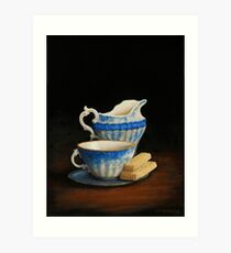 Afternoon Tea Art Print