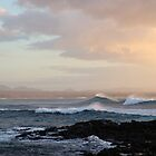 Spume & Sunset by Francis Drake