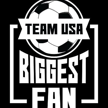 USA Biggest Fan United States National Soccer Team Shirt by allsortsmarket