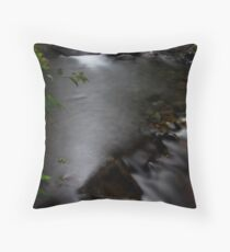 Streams a Flowin Throw Pillow