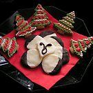 Gingerbread Christmas Trees & Mint Creams by patjila
