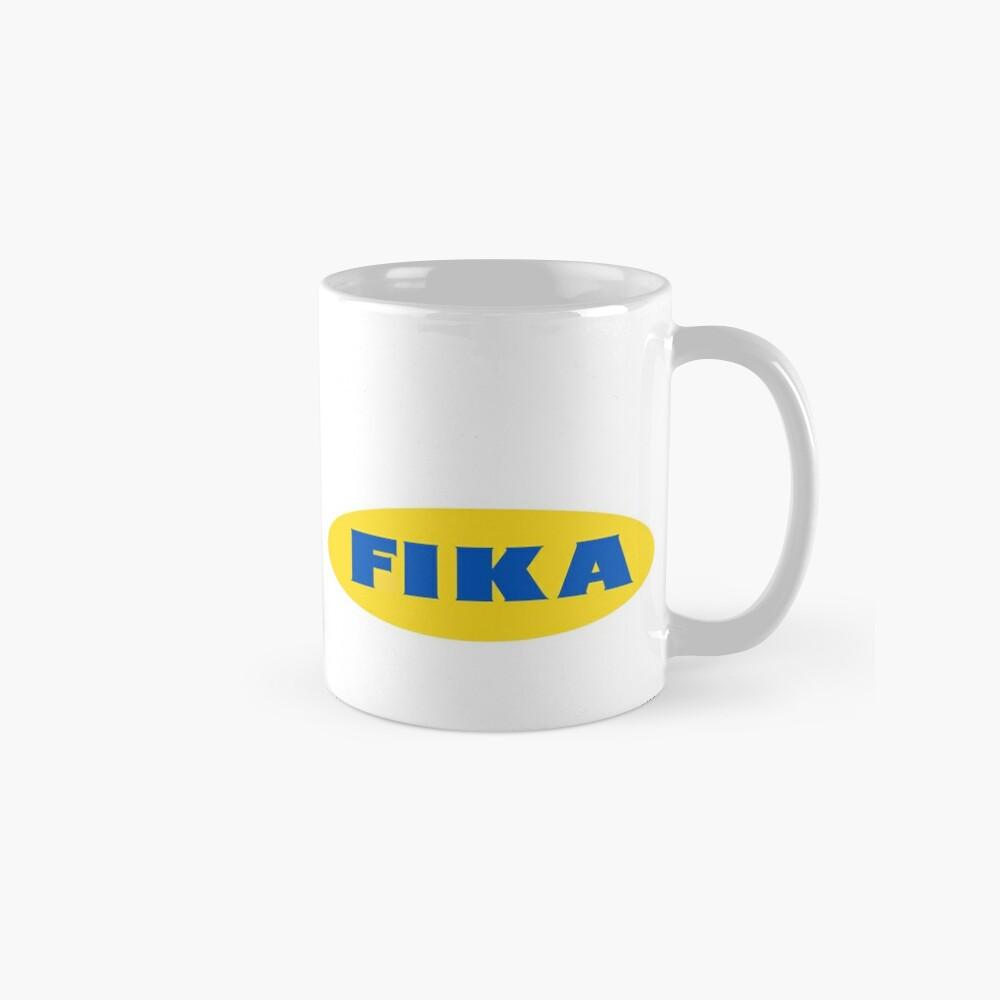 Fika The Diy Meal Ikea Logo Reimagined Classic Mug By Snarky