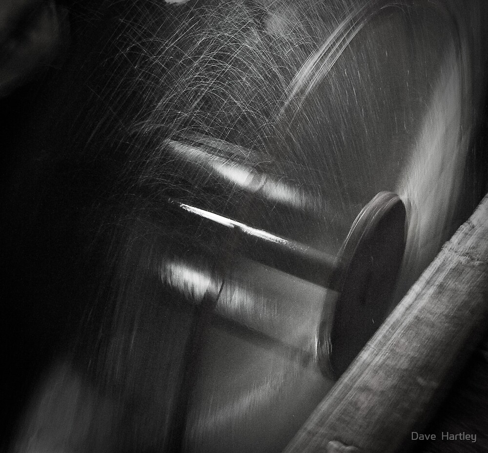 Spinning out by Dave  Hartley