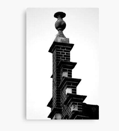 Up on the roof Canvas Print