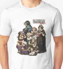 Octopath Traveler All characters treasure Unisex T-Shirt