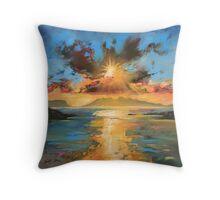 Morar Sunset Throw Pillow