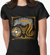 Freyja - Gold Women's Fitted T-Shirt