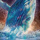 Mystic Whale by Susan Schroder Arts