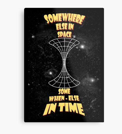 Through the wormhole Metal Print