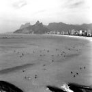 Ipanema Beach and Two Brothers Hills by Guilherme Pontes