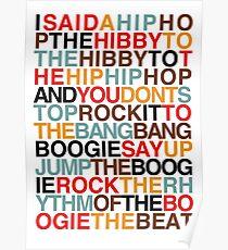 Rapper's Delight - Sugarhill Gang Poster