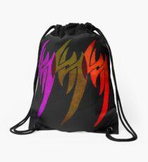 Triple Tekken Jin Kazama mk1 by Eye Voodoo Drawstring Bag