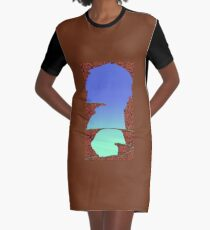 Blue Cavern (Worms 1) - ohms' Custom Worms Armageddon Level Graphic T-Shirt Dress
