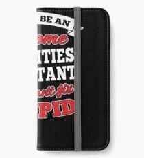 ACTIVITIES ASSISTANT T-shirts, i-Phone Cases, Hoodies, & Merchandises iPhone Wallet/Case/Skin