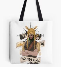 Wandering Adventurer Tote Bag