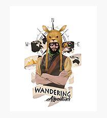 Wandering Adventurer Photographic Print