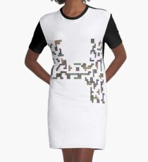 Fortris - ohms' Custom Worms Armageddon Level Graphic T-Shirt Dress
