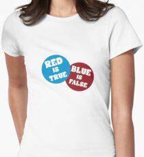 True or False Women's Fitted T-Shirt