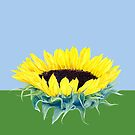 Floating Sunflower by Mariana Musa