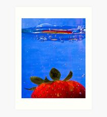 waterberry in color Art Print